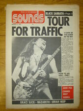 SOUNDS 1974 MAR 2 BLACK SABBATH TRAFFIC URIAH HEEP PEEL