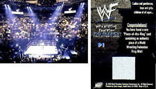 * RARE! * P1 2000 WWE WWF Comic Images No Mercy EVENT USED RING MAT