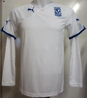 LECH POZNAN WHITE LONG SLEEVE JERSEY BY PUMA ADULTS SIZE XL BRAND NEW WITH TAGS