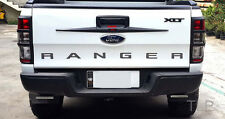 BLACK TAILGATE TAIL GATE HANDLE COVER FORD RANGER WILDTRAK PX XTL 2012 - 2017 15