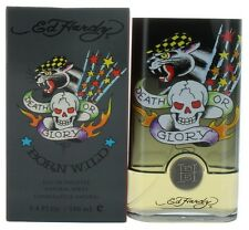 Born Wild by Ed Hardy for Men EDT Cologne Spray 3.4 oz New in Box