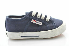 Superga scarpe shoes junior sneakers basse 2950 COTJ S003IH0 944 blu n° 31