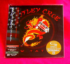 MOTLEY CRUE NEW TATTOO JAPAN SHM MINI LP CD UICY-93500 NEW