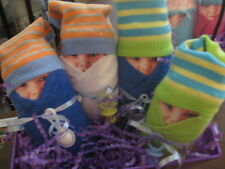 Diaper Babies Set of 2 - Gifts for Baby Showers, New Mommys