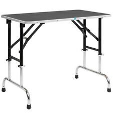 Master Equipment Adj Height Groom Table 48x24In TP698-48 Pet Grooming tables NEW