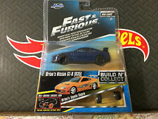 JADA 1:55 FAST AND FURIOUS Build And Collect BRIAN'S NISSAN GT-R (R35)