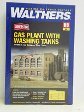 "WALTHERS/CORNERSTONE HO U/A ""GAS PLANT w/WASHING TANKS"" PLASTIC MODEL KIT"