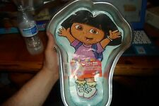 2003 WILTON DORA THE EXPLORER CAKE PAN WITH LABEL & INSTRUCTIONS #2105-6300