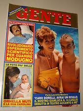 GENTE=1984/28=PARPALAIX=DOMENICO MODUGNO=BUSSOLENGO=LANCIA PRISMA=CABRINI=FORTE=