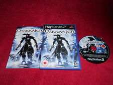 DARKWATCH ORIGINAL BLACK LABEL SONY PLAYSTATION 2 PS2 PAL VGC