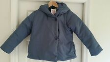 NWT Hanna Andersson *ALL WRAPPED UP* PUFFER JACKET STORMY BLUE COAT 140 10