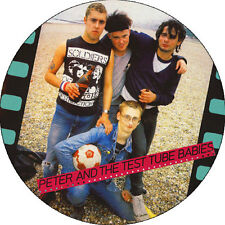 IMAN/MAGNET PETER AND THE TEST TUBE BABIES . punk oi! 4 skins angelic upstarts