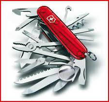 1.6795.T VICTORINOX SWISS ARMY POCKET KNIFE SWISS CHAMP SAPPHIRE RED TRANSLUCENT