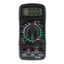 Digital LCD Multimeter Voltmeter Ammeter AC/DC/OHM Volt Tester Current Test