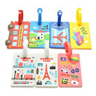 Luggage Tags Strap Name Address ID Suitcase Baggage Travel Label Tag  ABUS