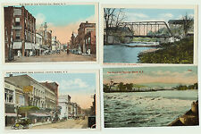 POSTCARD Lot of 6  --- Elmira NY - Originals  ca 1910 -  NOS -  MINT -