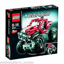 LEGO TECHNIC 8261 POWER TRUCK 4WD RALLY TRUCK  2in1  LKW bnisb