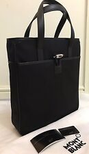 LOTTO N. MONT BLANC NIGHTFLIGHT VERTICALE NERA TOTE BAG made in Italy