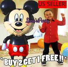 """HUGE 44"""" Mickey Mouse Boys Birthday Party Balloons balloon shower Theme baby"""