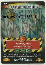 Doctor Who BATTLES IN TIME Devastator SUPER RARE CARD 1017 ELECTROMAGNETIC PULSE
