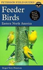 Peterson Field Guide to Feeder Birds of Eastern North America-ExLibrary
