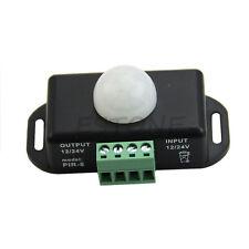 Deluxe Automatic DC 12V-24V Infrared PIR Motion Sensor Switch For LED light NEW