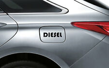 Black Diesel D1 Decal Sticker Fuel Lid Honda City Amaze