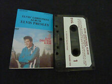 ELVIS PRESLEY THE CHRISTMAS ALBUM ULTRA RARE NEW ZEALAND CASSETTE TAPE!