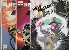 NEW MUTANTS - NEW SERIES - LOT OF 3 - #44 #45 #46 FEAR THE FUTURE SET (NM)
