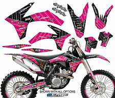 2011 2012  KTM SXF SX-F 250 350 450 4-STROKE GRAPHICS KIT DECO DECALS STICKERS