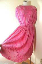 Vintage Nina RICCI Pink Sports Wear Dress Medium to Large 7 8 9
