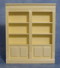 1 /12 scale Dolls House    Double Shelf Unit   Cream    DF1136