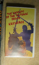 The Knights of the Teutonic Order Krzyzacy Polish Fords English Subtitles VHS