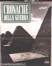 CRONACHE DELLA GUERRA 1 GIUGNO 1940 SIGFRIDO CIANO ALBANIA PATTO D ACCIAIO BELGI