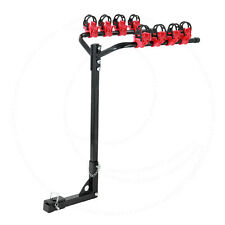 FOR PORSCHE 1.25-2 INCH HITCH MOUNT BIKE RACK CARRIER BLACK 4 BICYCLE HOLDER
