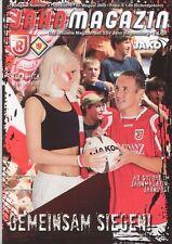 Jahn Regensburg – Eintracht Braunschweig - Jahn Magazin vom 22. August 2009