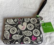 VERA BRADLEY MICKEY MOUSE SHIMMER ZIP POUCH SEQUINS WRISTLET WALLET NWT