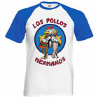 Los Pollos Hermanos Inspired Breaking Mens T Shirt Bad Heisenberg Walter Meths