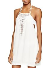 NEW L*space L* Kokomo Halter Dress Swim Cover Up Ivory M Medium $110