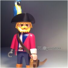 Playmobil SPÉCIALE PIRATE CAPITAINE Perroquet By PL@ymoD@n