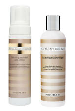 For All My Eternity Organic Gold Edition Tanning Mousse + Tan Saving Shower Gel