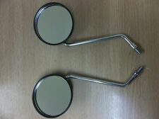 Yamaha XT500 1979/89  Pair of Black Plastic Mirrors QMP107