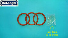 Delonghi Brew group 3x O-Rings / Gaskets /