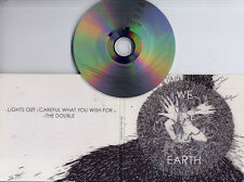 WE FELL TO EARTH Lights Out 2009 UK 3-trk promo CD digipak Unkle QOTSA