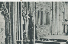 C902 1920 POSTCARD MACARBE SIR THOMAS WESTS TOMB