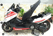 Kit adesivi TMAX 500 RS scooter Yamaha T MAX stickers racing decals tuning