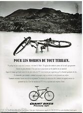 Publicité Advertising 1995 Vélo VTT Giant Bikes