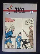 RARE SELTEN Revue Allemande Tim Das Magazin N° 19 Tintin 2006 500ex Neuwertig