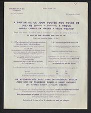 """CLERMONT-FERRAND (63) USINE de PNEUS / à VALVE inclinée """"MICHELIN & Cie"""" en 1924"""
