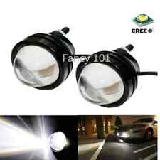 2Pcs White High Power Fish Eye DRL CREE LED Projector Fog Daytime Running Lights